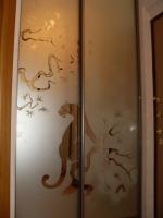 Рисунок На Зеркале Шкафа Купе В Мытищах